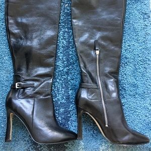 New Nine West Leather Boots
